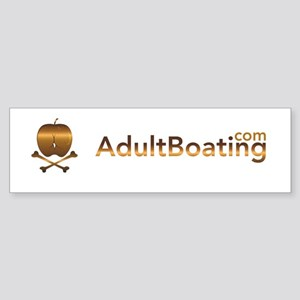 AdultBoating Sticker (Bumper )